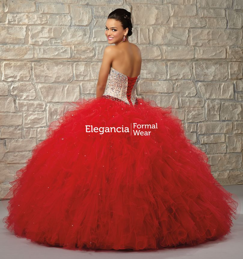 red quinceanera dresses dallas