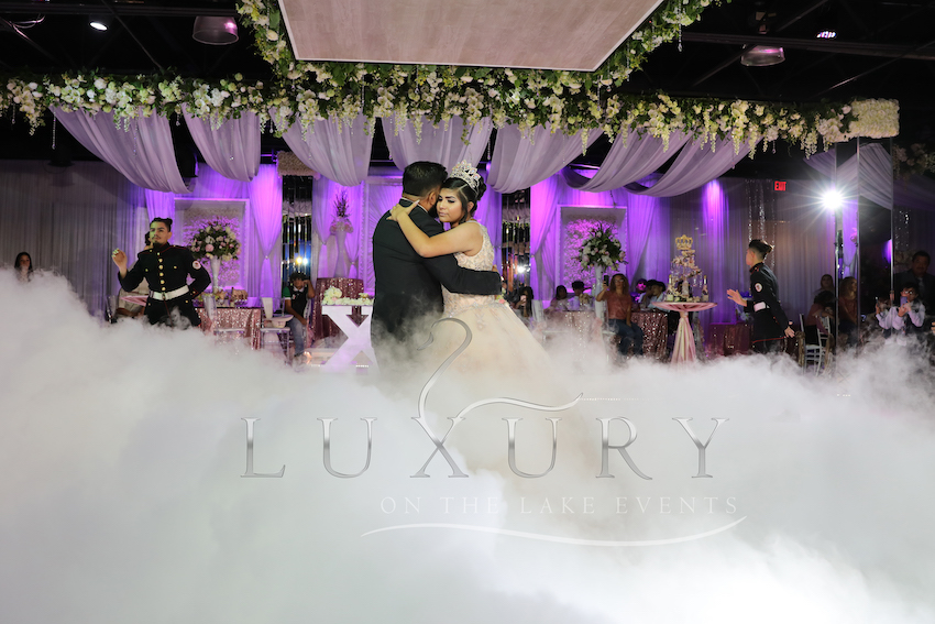 luxury on the lake events reception hall