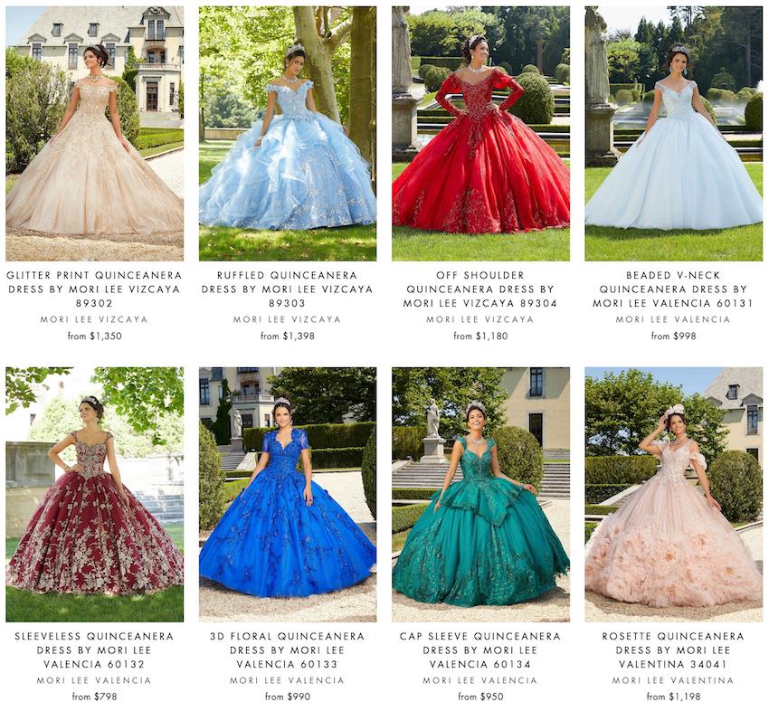 abc fashion dallas quinceanera dresses