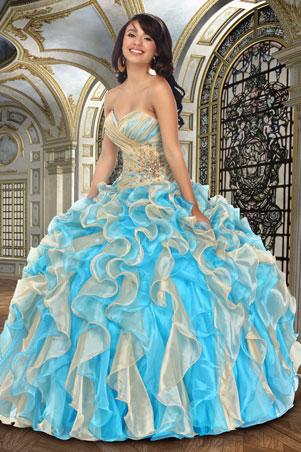 Pocahontas Disney Quince Dress