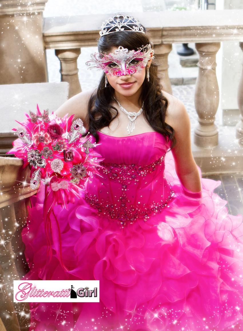 Magnífico Vestidos De Fiesta Glitterati Ilustración - Colección de ...