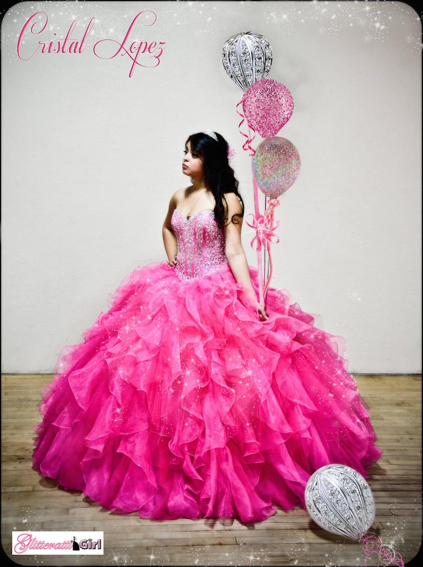 Glitteratti Girl Quinceanera Photography In Dallas And