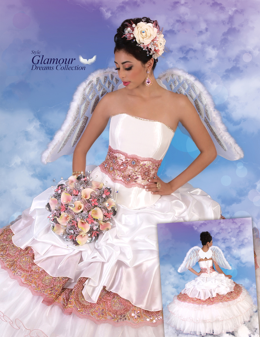 laglitter quinceanera dresses