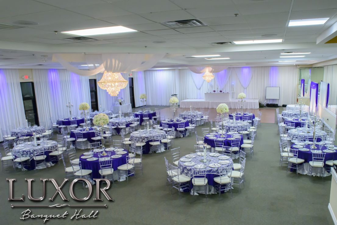 Luxor Banquet Hall Wedding And Quinceanera Reception