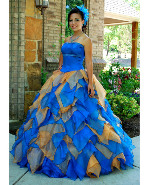 Colorful Quinceanera Dresses in Dallas