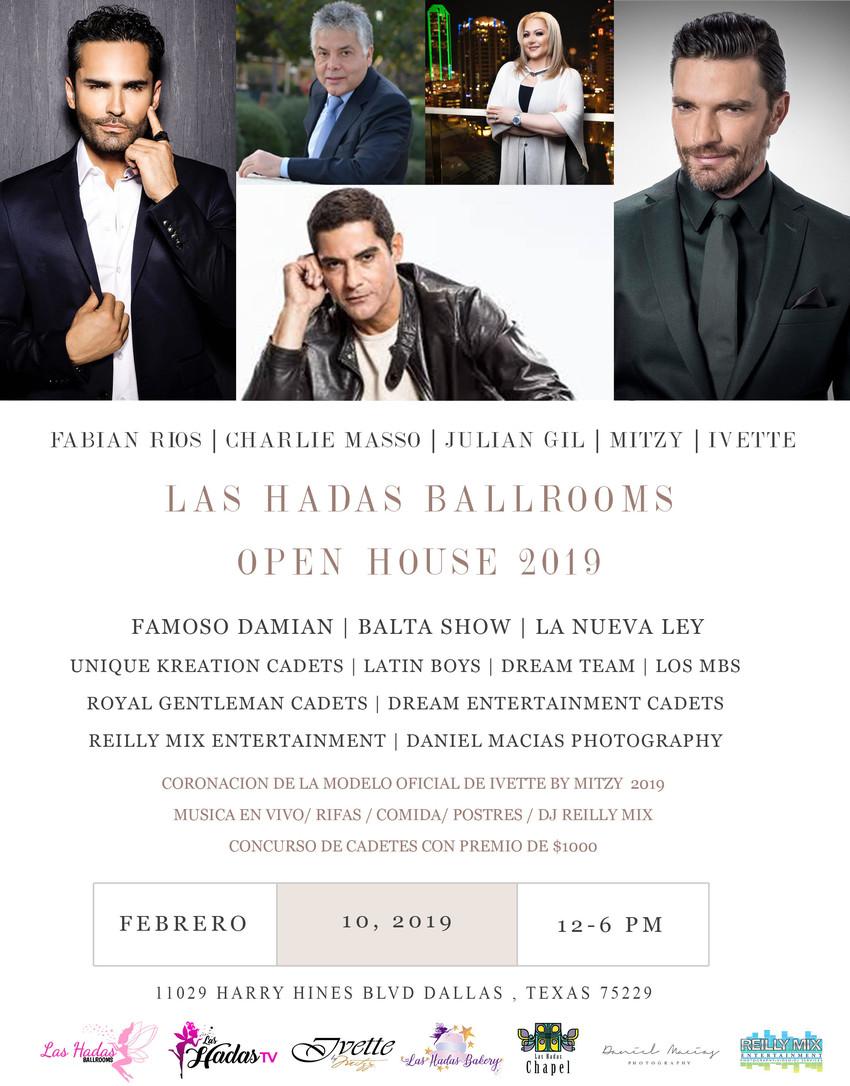 las hadas open house
