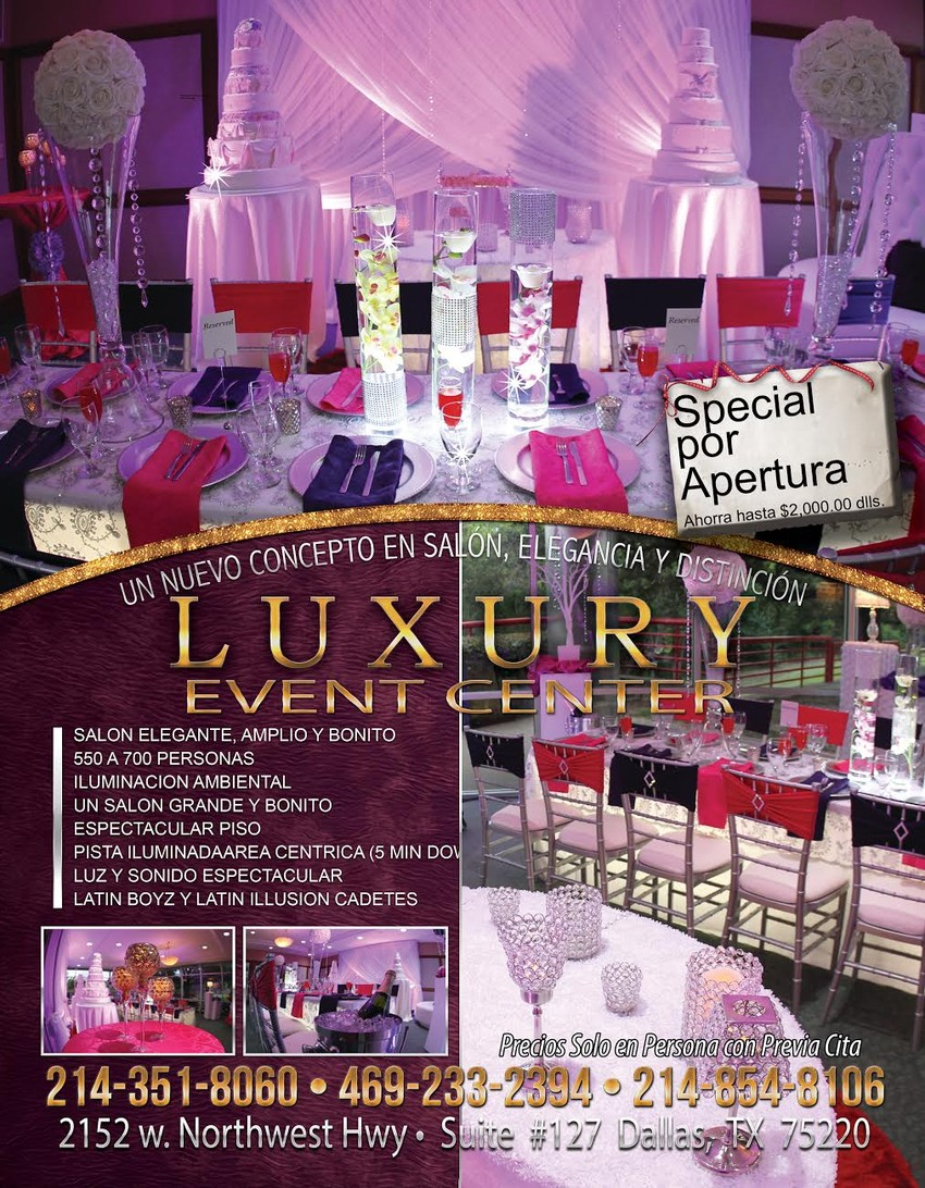 Luxury Event Center