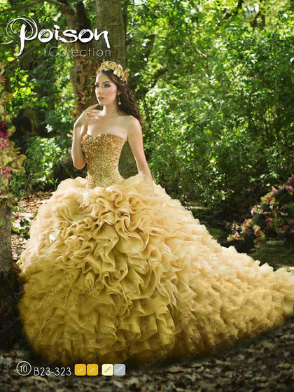 Ragazza Quinceanera Dresses poison collection
