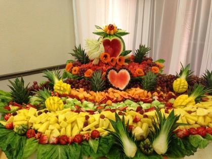 Rosy decoraciones y frutas quincea eras y bodas dallas - Decoracion de frutas ...